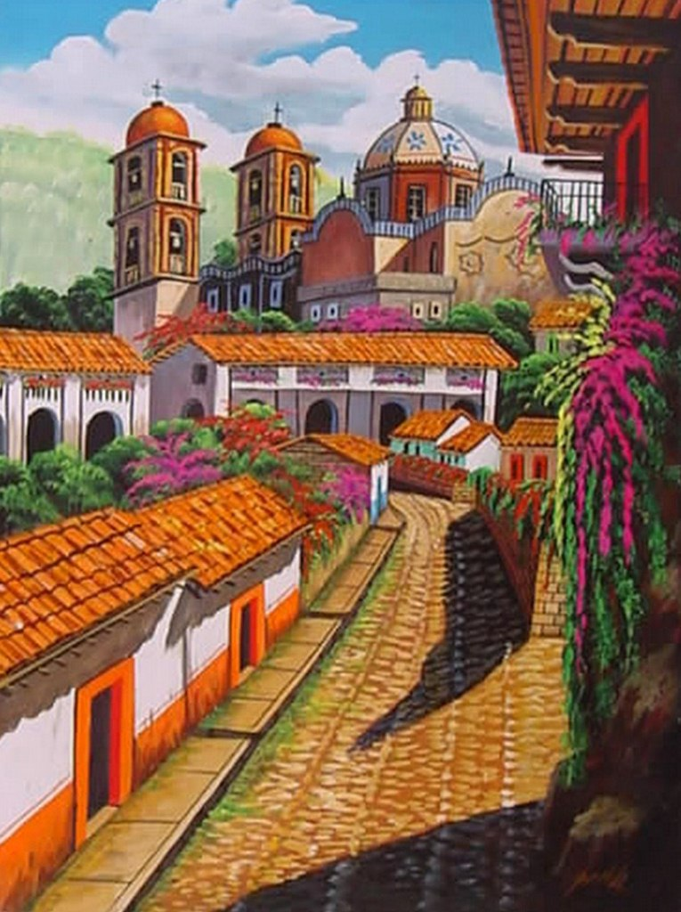 lienzos mexicanos paisajes mexicanos pintura paisajes mexicanos ...