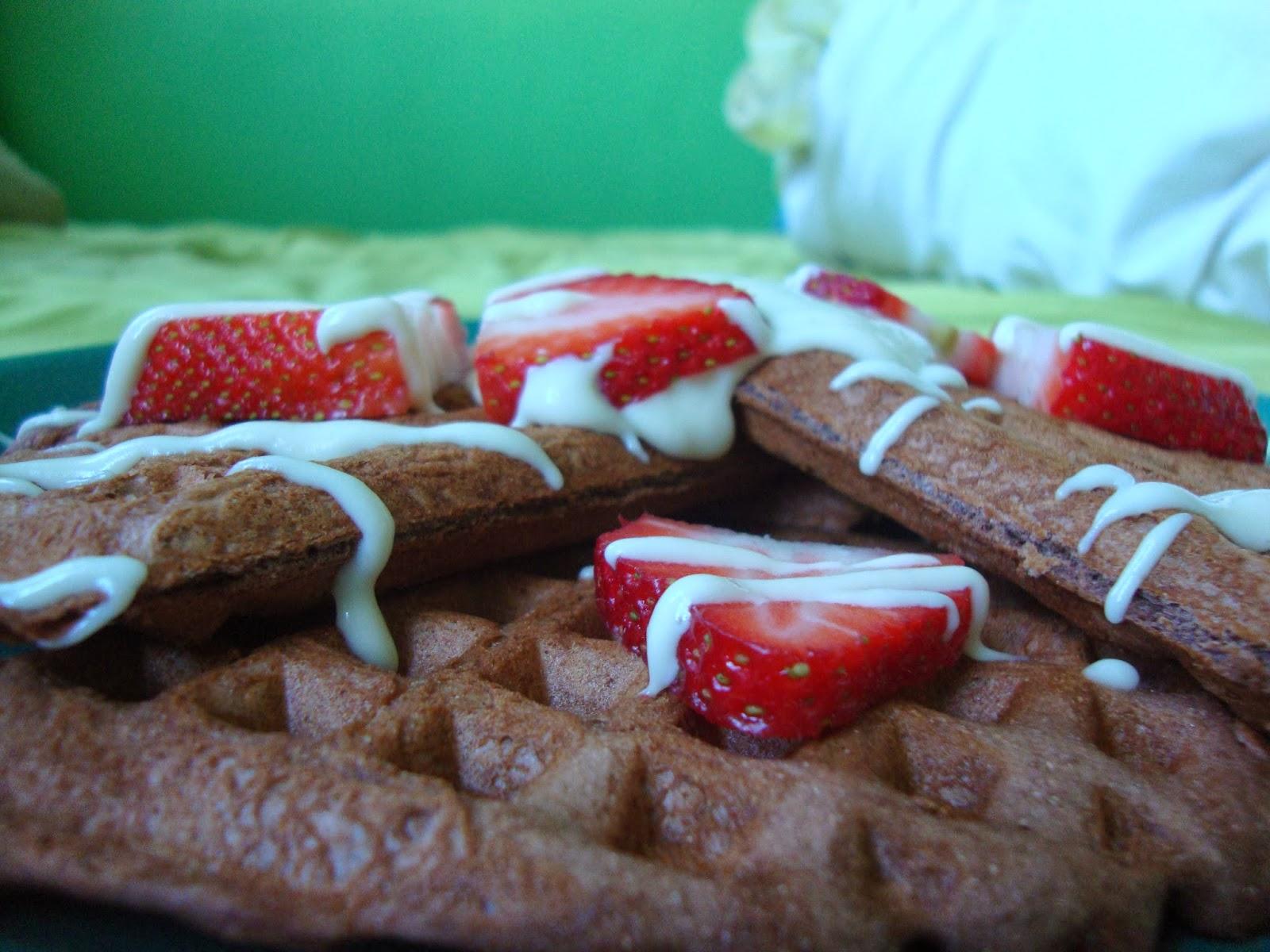 Basil Bakery: Gluten Free Red Velvet Waffles with Coconut ...
