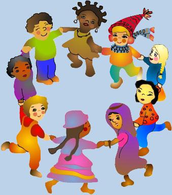 Material de educaci n social y c vica cultura y socializaci n for Grandi bambini giocano a casa