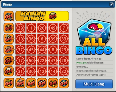 All Bingo Lost Saga Indonesia
