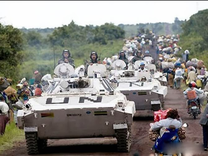 Five UN troops wounded in DR Congo attack