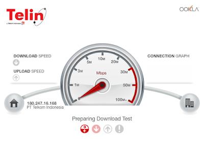 Speed Test Net - Cara Tepat Tes Kecepatan Internet di PC - Laptop - Notebook - Andorid - Blackberry untuk semua Provider - Telin Speed Test