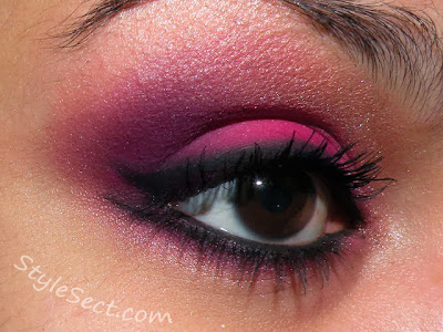 eye style fashion color