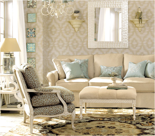 Romantic style living room design ideas room design ideas for Room romantic style