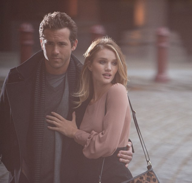 Ryan reynolds Rosie Huntington pictures