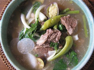 Delicious Filipino Sinigang Dish