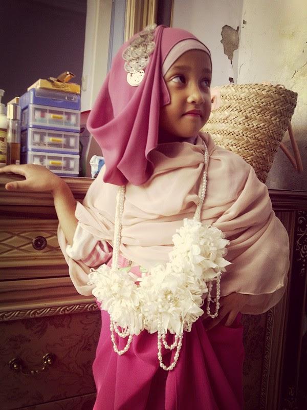 Hijab casual anak perempuan