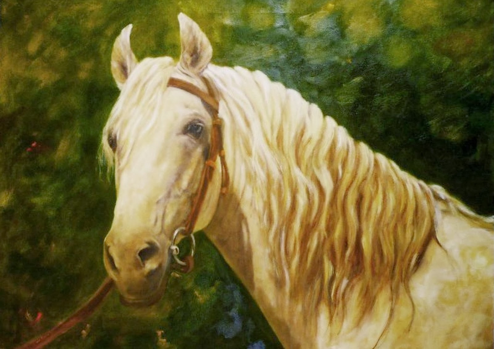 caballos-oleoS