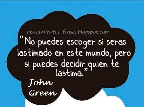 frases de John Green