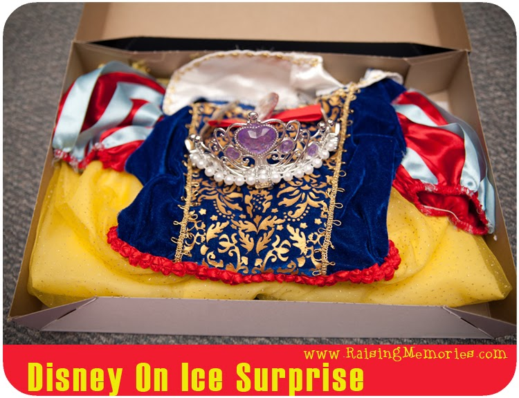 Surprise Gift Tickets to Disney On Ice
