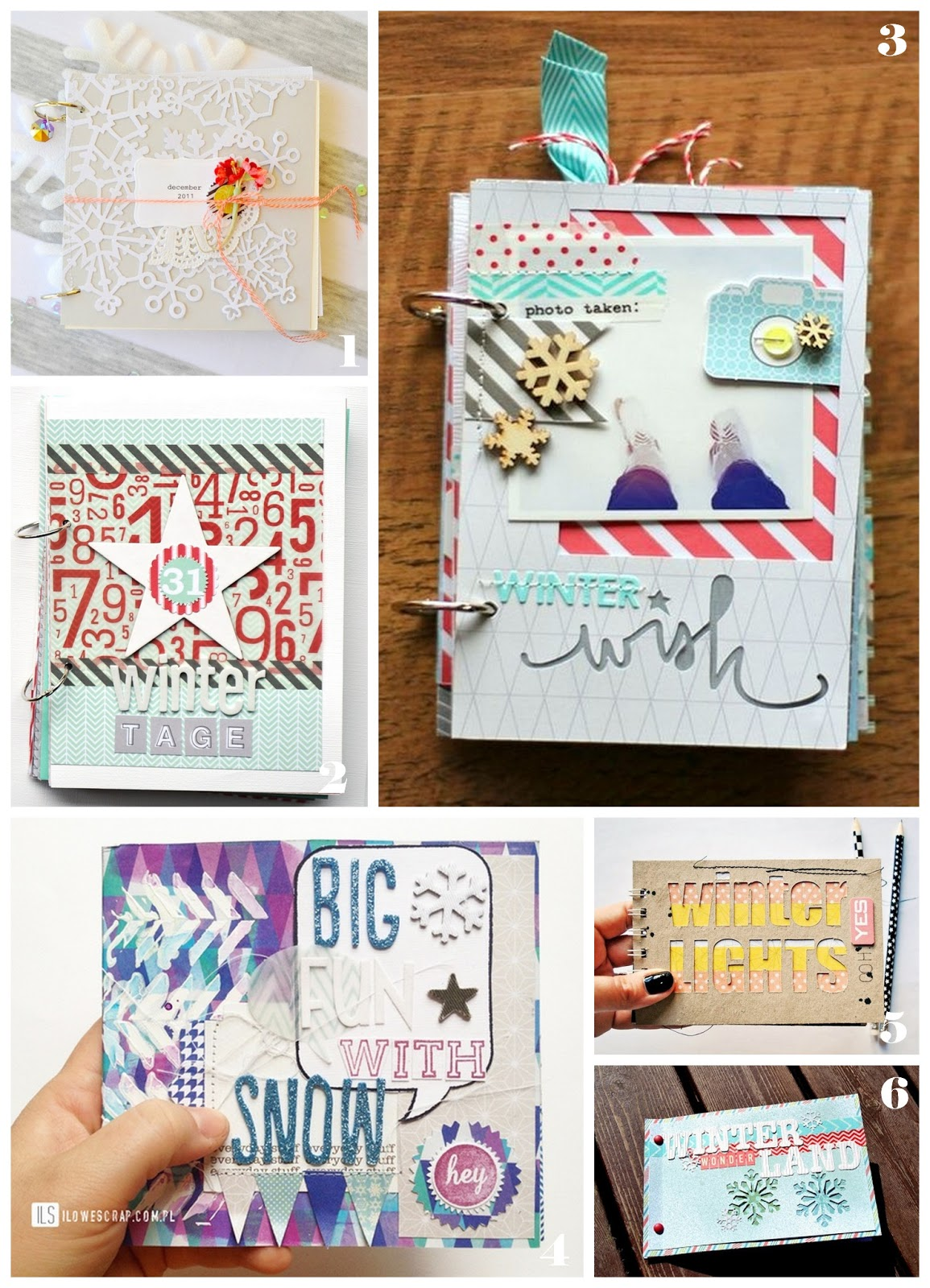Wintertime: winter minialbums by momentstolivefor
