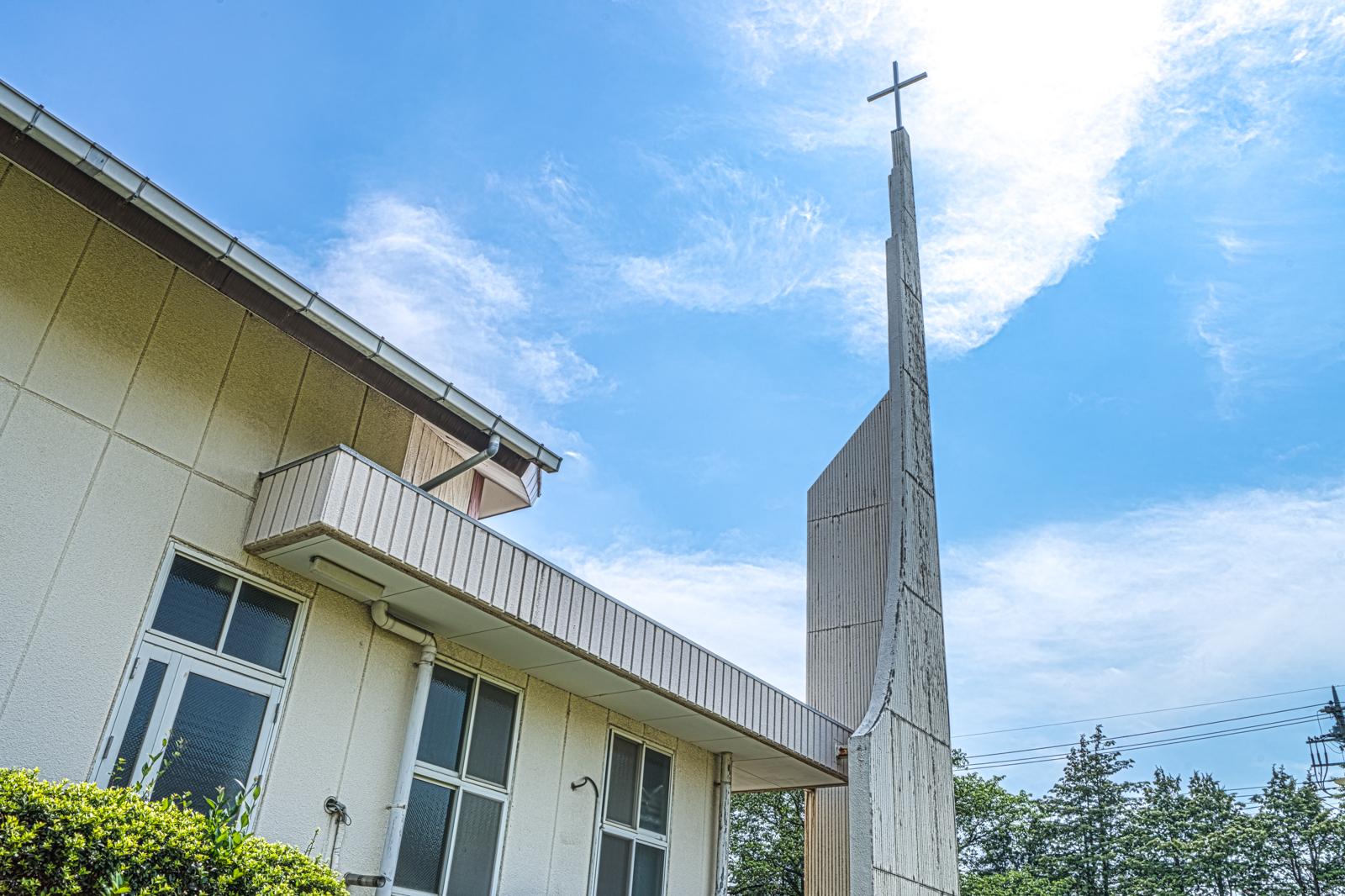 教会のHDR写真