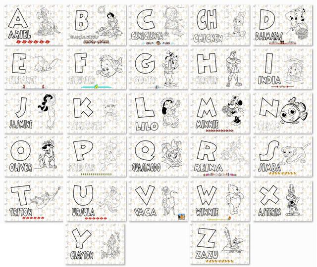 Dibujos Para Colorear El Abecedario En Ingles picture gallery