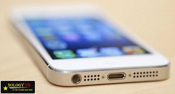 Thiết kế của IPhone 5 chưa active