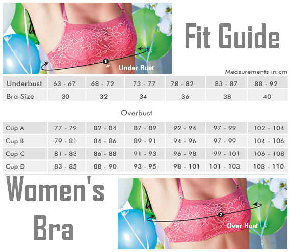Calculate Women's Bra Size