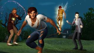 baixar capa Jogo The Sims 3 Sobrenatural PC