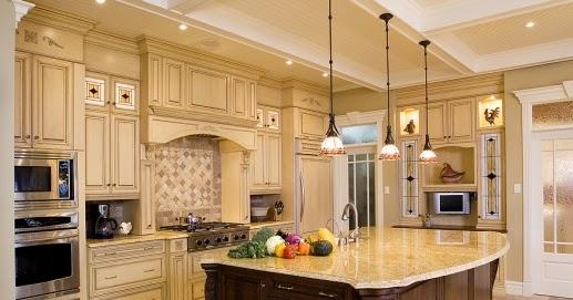 Diseno de cocina estilo toscana cocinas y ba os for Disenos de pisos para cocina