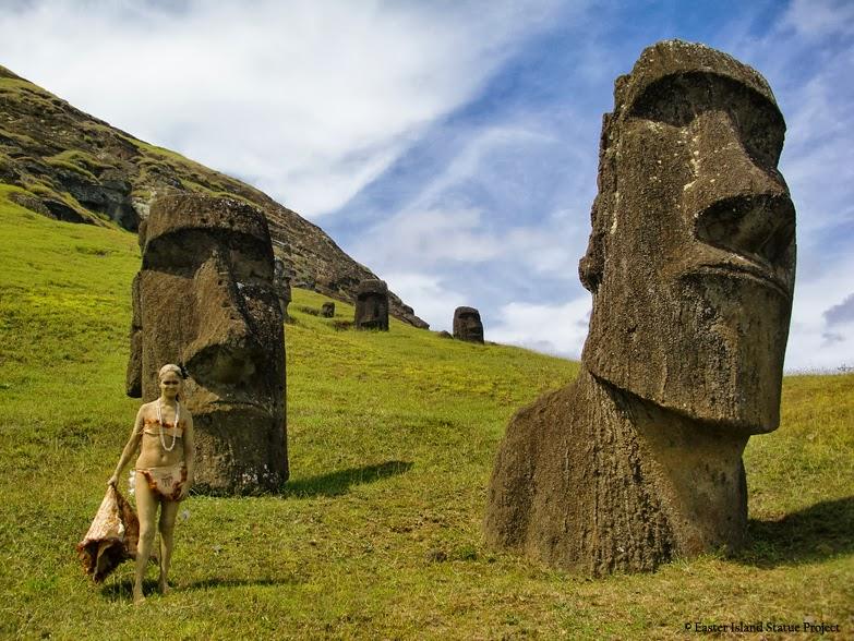 açıklanamayan olaylar paskalya adası heykelleri