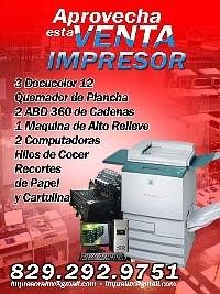Impresora LUX - Higuey vende un IMPRESOR