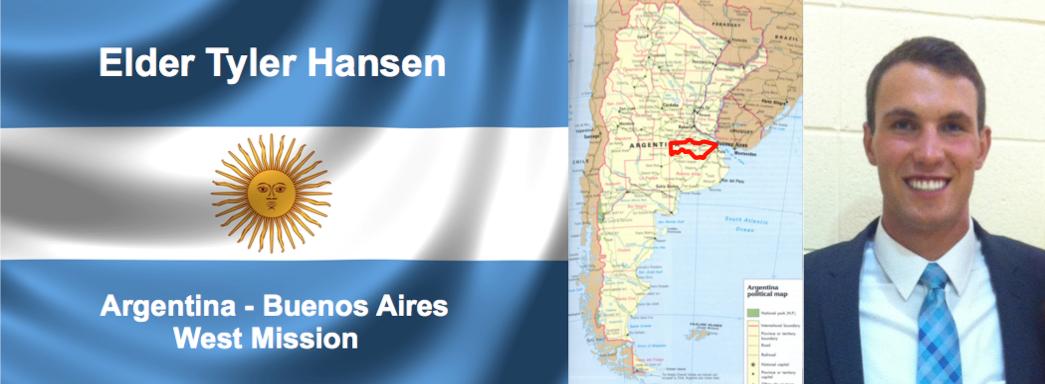 Tyler Hansen's Mission to Argentina