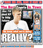 Do the tabs, by giving relentless publicity, serve as enablers of the Knicks?