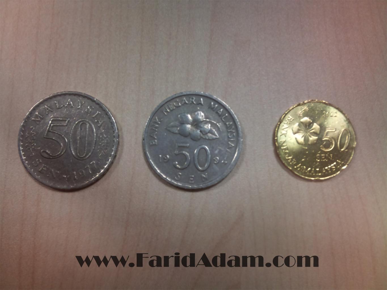 duit syiling, duit simpanan, pelaburan