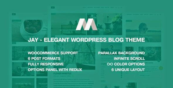 download Jay - Elegant WordPress Blog Theme
