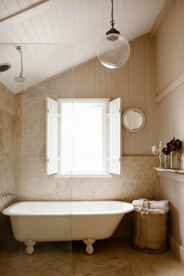 Wabi sabi scandinavia design art and diy 2013 09 for Queenslander bathroom