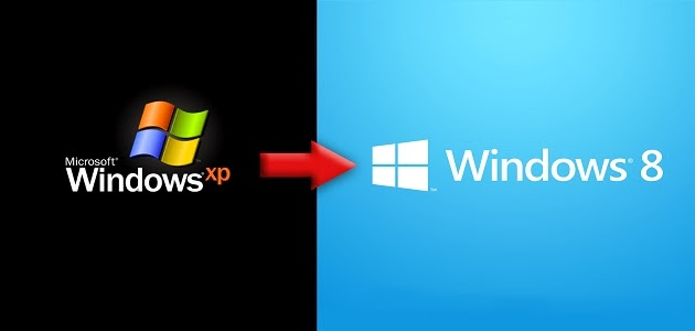ويندوز إكس بي لديه 4 أضعاف مستخدمي ويندوز 8