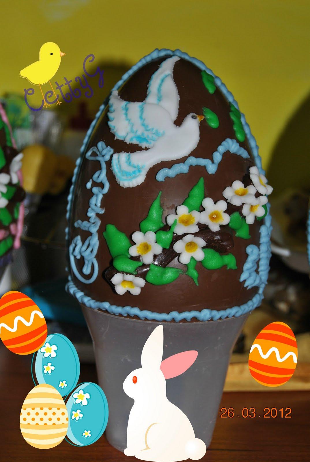 Le torte decorate di cetty g uova di pasqua 2012 - Uova di pasqua decorate ...