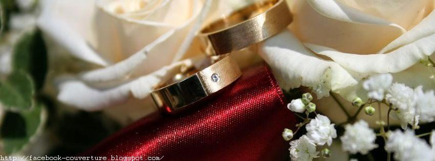 Une belle couverture pour évenement mariage sur facebook