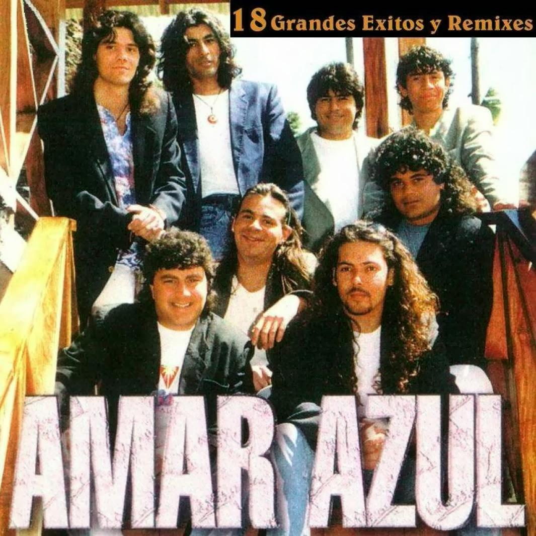 Amar Azul - 18 Grandes Exitos y Remixes (2007)