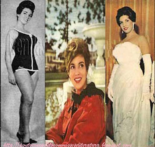ANA MARIA RIBEIRO GONÇALVES - MISS PARANÁ 1962