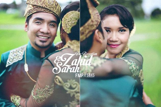 Malayaia, Hiburan, Artis Malaysia, Selebriti, Sekitar, Majlis Resepsi, Zahid, Dan, Sarah Julifa,