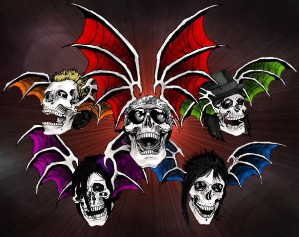 Avenged Sevenfold Logo 2011 Foto