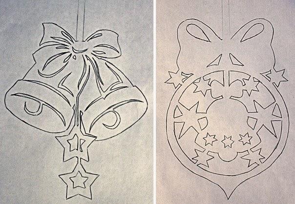 diseos bonitos de papel para decorar en est navidad