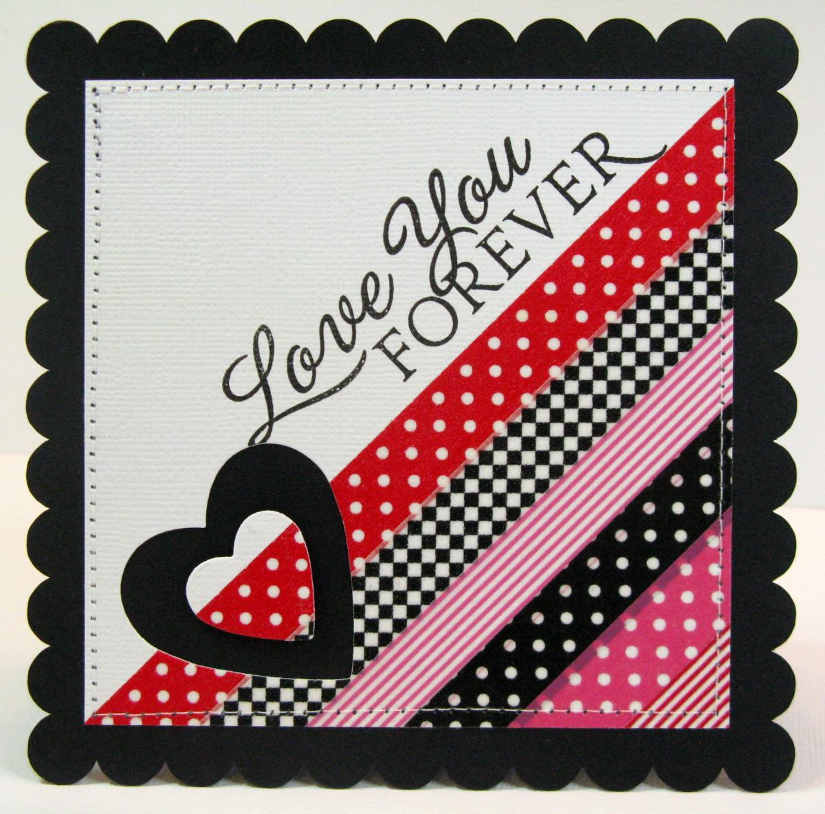 Snippets By Mendi Quick Easy Last Minute Valentines Day Cards – Easy Valentine Cards