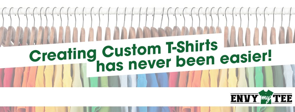 Creating Custom T-shirts Banner