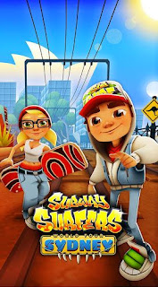 Screenshots of the Subway surfers: World tour Sydney for Android tablet, phone.