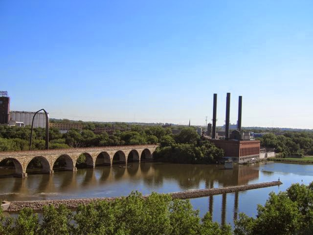 Mississippi River in the Twin Cities