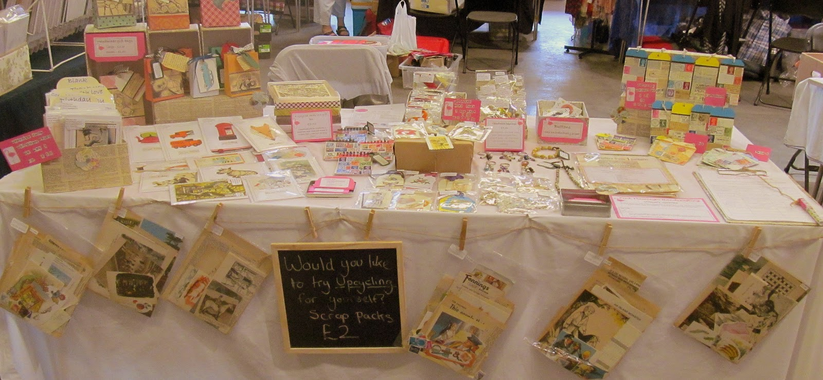 Christmas Fayre Craft Ideas Part - 42: Upcycled Craft Fair