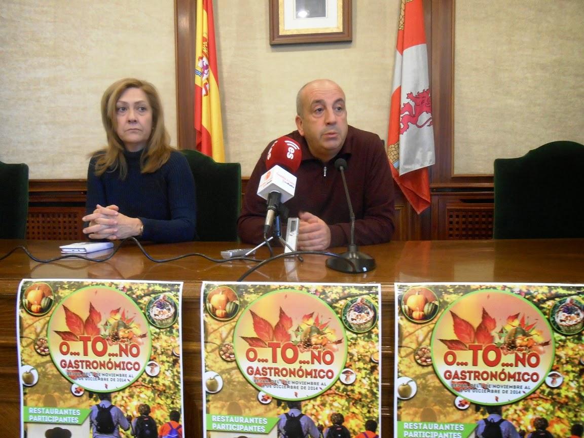 """Presentación del """"O…tó….ño Gastronómico"""" Béjar 2014"""