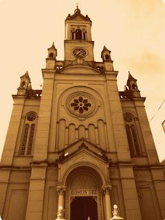 Fachada da Igreja Auxiliadora, em Bagé