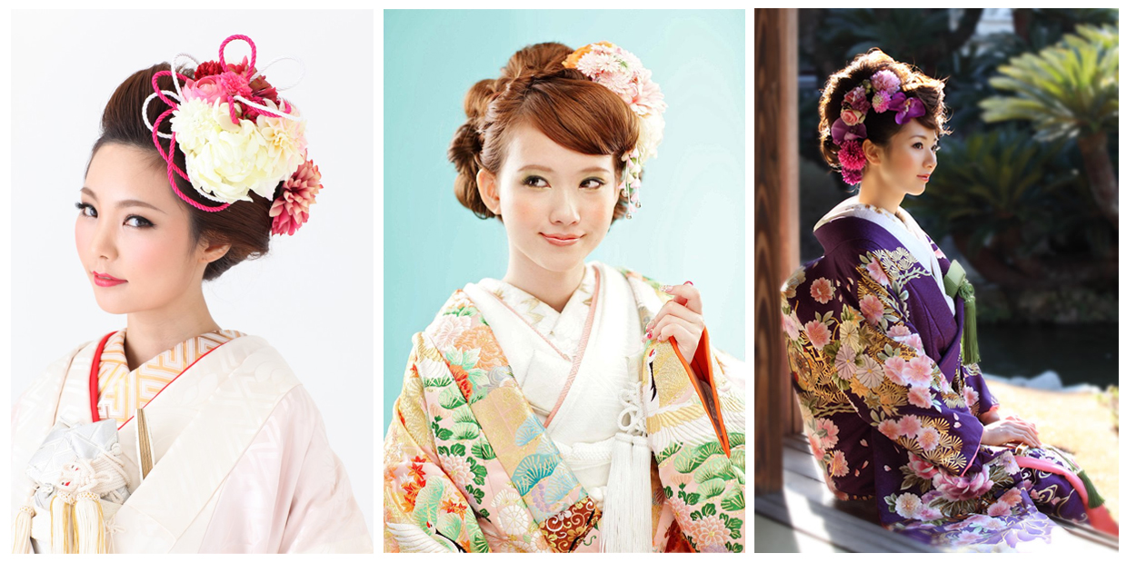 Modern amp Traditional Japanese Hairstyle for Women