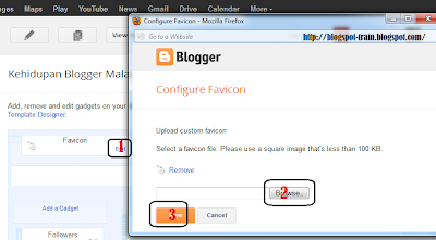 How To Change Blogspot Favicon