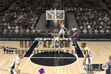 Screenshot NBA Live 2004 :