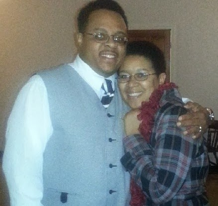 Me and Hubby New Years Eve 2013