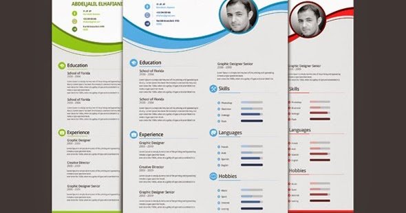 comment faire un cv  professionnel styliser cv cv multicolore