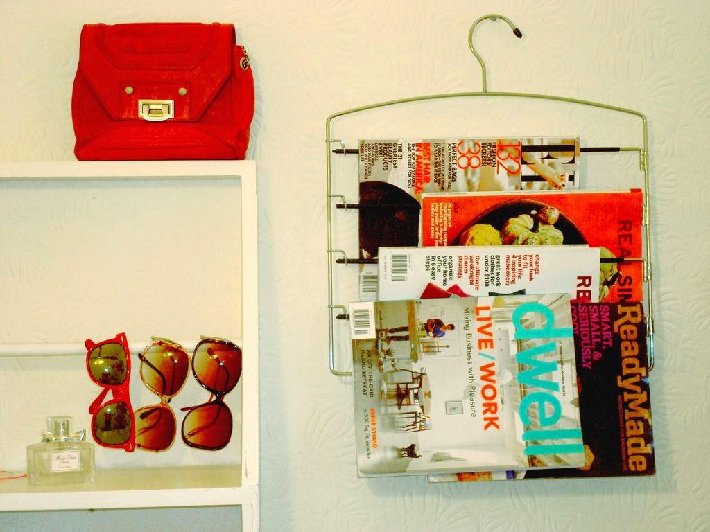 magazine rack ideas