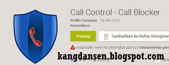 Blokir Panggilan di Android